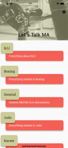 Let's Talk MA - Categories