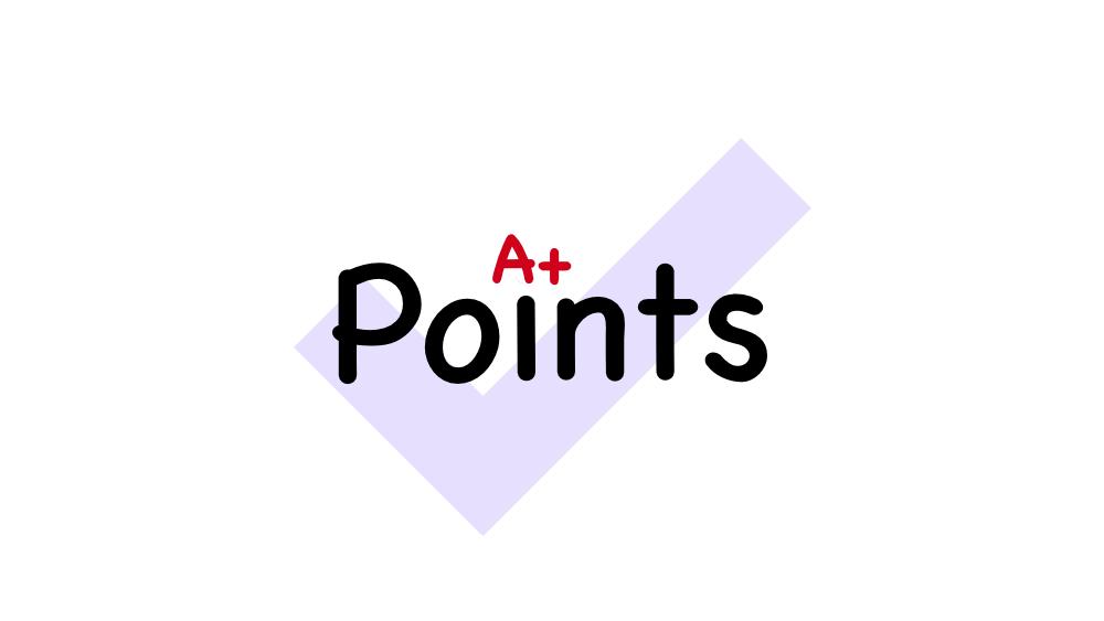 A+ Points Logo